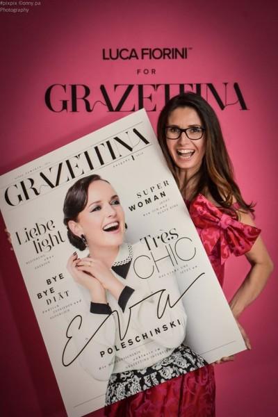 Gabi Leger organisiert seit vielen Jahren das monatliche GRAZETTA-Druckfrisch und seit 6 Jahren die GRAZETTA Damenrunden (Foto MOMA GmbH)