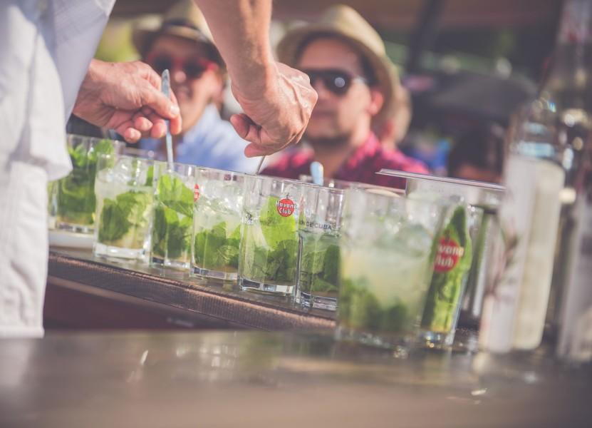 Köstliche Mojitos auf der Havana Club Sommer-Tour 2016 (Foto Havana Club)