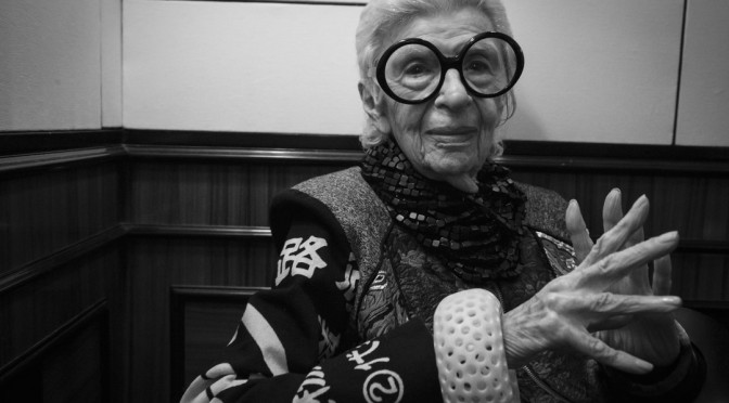 Stilikone Iris Apfel erhielt Vienna Award '16