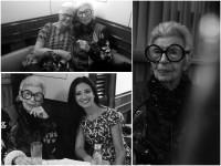 Iris Apfel, 95-jährige Mode- und Designlegende, erhielt den Vienna Award '16 als Style Icon International in New York überreicht (Foto Inge Prader)