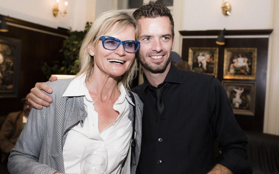 Mathias Kniepeiss, hier mit Hedi Grager, hat ein Ziel: vollendete Technik und kreatives Schaffen zu vereinen. Dass ihm das gelingt, zeigt seine großartige Karriere (Foto Marija Kanizaj)