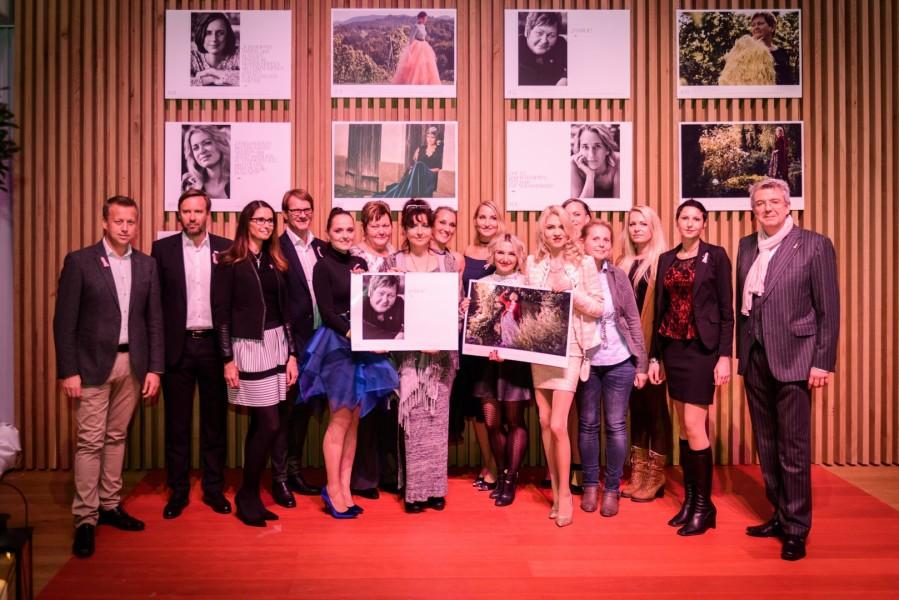 6x2 = 12 x Mut, den zeigen starke Frauen wie Dagmar, Karin, Nina, Katrin, Luisi und Martina (Foto Felix Werinos)