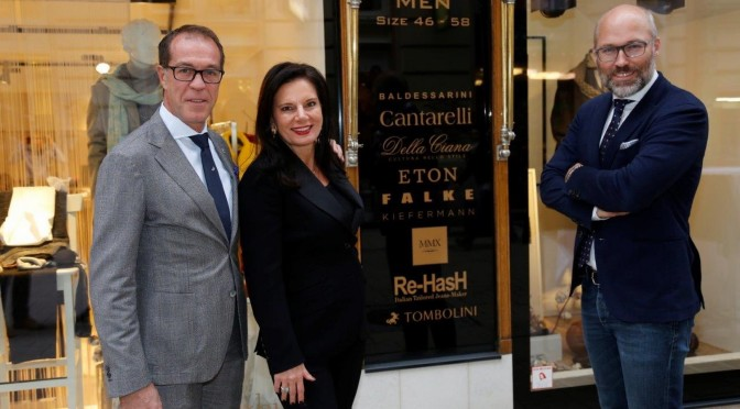 Late-Night-Shopping im Carina Harbisch Fashion Store
