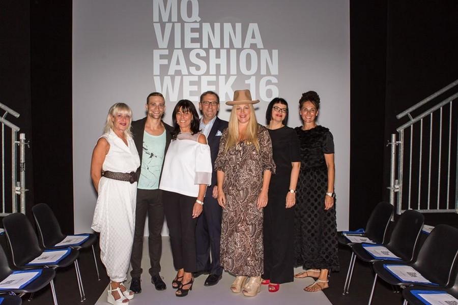 creative headz bei der MQ VIENNA FASHION WEEK opening show (Foto Stefan Wolf)