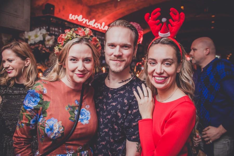 Miss Lillys Hats Designerin Niki Osl, Designer Thomas Kirchgrabner und Eventmanagerin Liliana Klein beim MOTTO CHARITY PUNSCH (Foto Marzena Wolowicz)