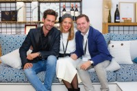 STYLE UP YOUR LIFE! Fashion Magazin Herausgeber Michael Lameraner, Viteo Managing Director Susanne Gold und Viteo Vertrieb Österreich Richard Molcik (Foto Moni Fellner)