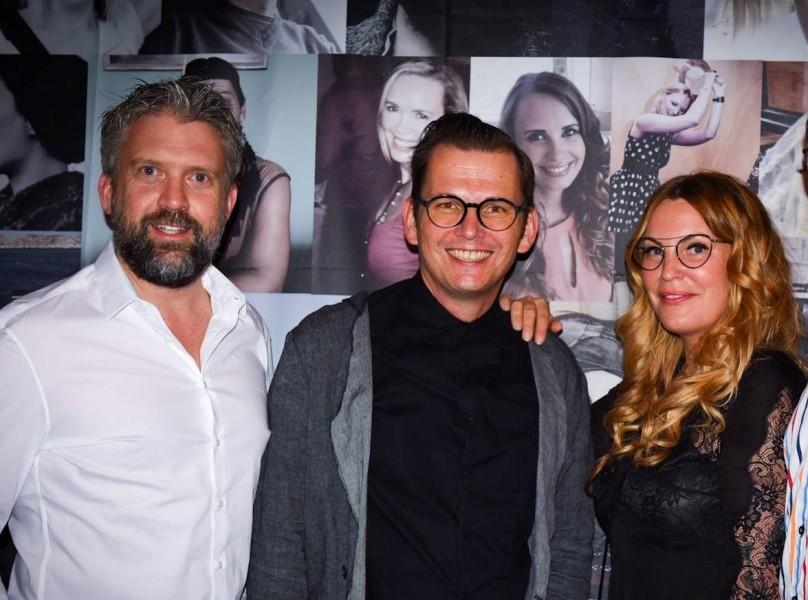 Katharina Schlager mit ihren Geschäftspartnern Andreas Pirkheim und Wolfgang Scheuch (Foto ANDY WOLF)