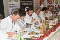 Die Finalisten im Bereich Küche: Simon Harrer, Konrad Sommerbauer, Martin Hacker, Young Talent 2016 Hermann Retzer, Julia Fallmann und Joshua Kostecki (Foto Werner Krug)