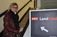 Ab Dezember starten vier neue Filme der ORF-Erfolgsreihe Landkrimi mit großartigen Schauspielern. Im Bild Journalistin Hedi Grager (Foto Reinhard Sudy)