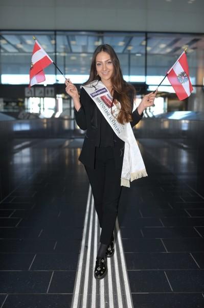 Miss Universe Austria Dajana Dzinic freut sich auf die spannende Zeit auf den Philippinen (Foto MAC/Philipp Hutter)