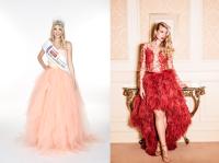 Miss Austria 2016 Dragana Stankovic in Roben der Designerin Eva Poleschinski (Foto MAC/privat Dragana Stankovic / Foto EMG Photography - Eva-Maria Guggenberger)