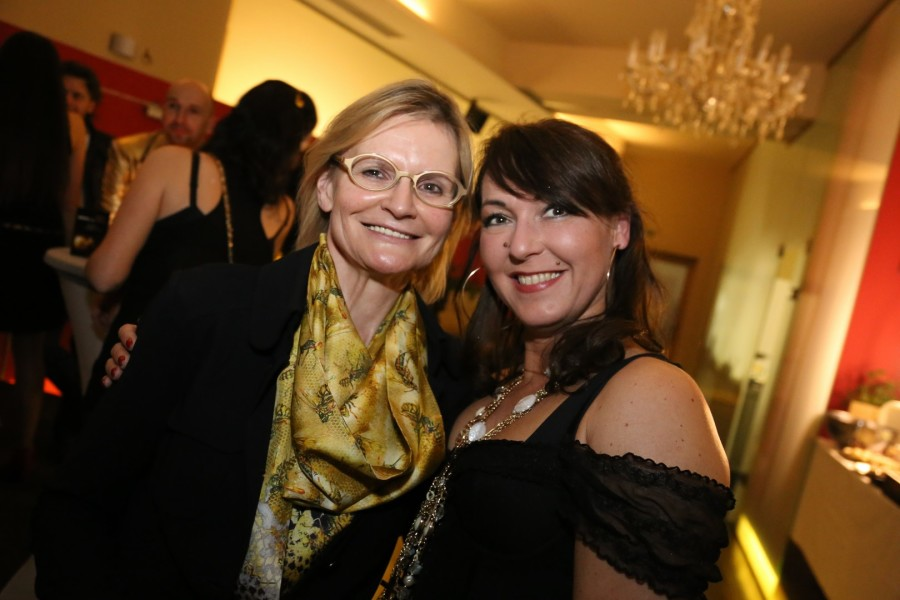 Sylvia Baumhackl, hier mit Hedi Grager, ist Mitorganisatorin der Miss Styria Wahl 2017 (Foto privat)