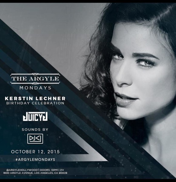 Kerstin Lechner: Personal Appearances Flyer
