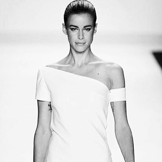 International gefragtes Model Kerstin Lechner (Photo Getty Images - Project Runway)