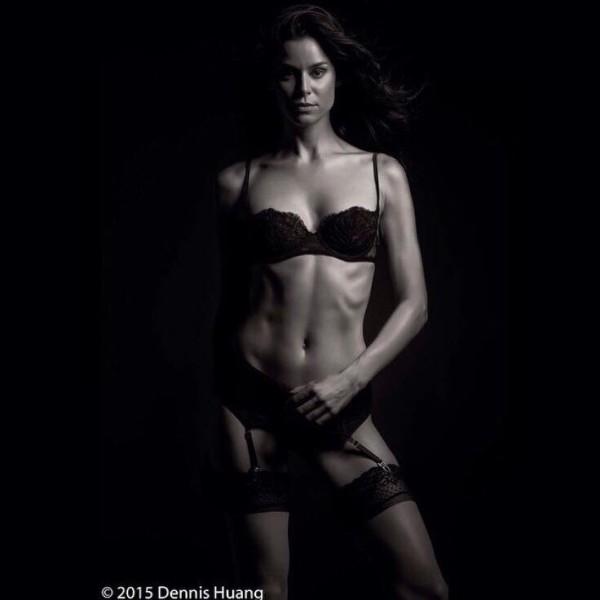 Kerstin Lechner: Photoshooting (Photo Dennis Huang)