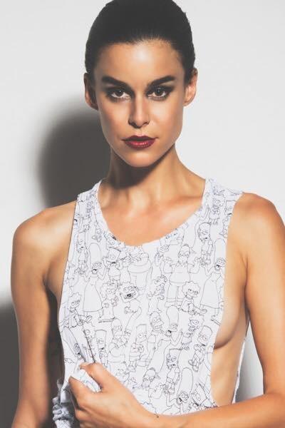 Top-Model Kerstin Lechner lief für die großen Labels wie Prada, Miu Miu, Gian France Ferre, Dolce Gabbana, La Perla uvm. (Photo Dennis Huang)
