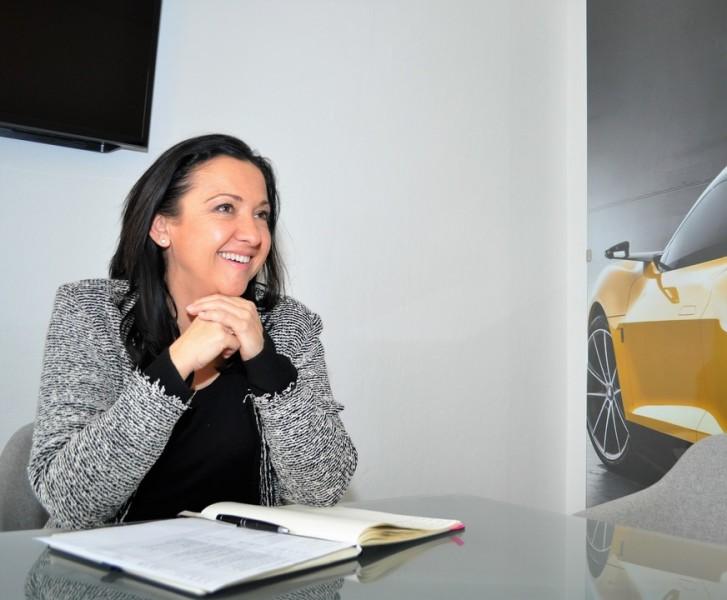 """Ana Topolic: """"Ich bin es gar nicht gewöhnt, beim Interview im Mittelpunkt zu stehen, normalerweise manage ich im Hintergrund."""" (Foto Reinhard Sudy)"""