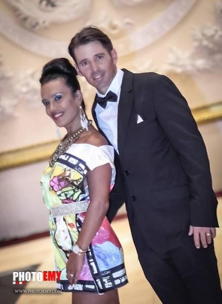 Die brasilianische Designerin Chris Barreto erobert mit ihrem Lifestyle-Label Europa - gemeinsam mit ihrem Mann Thomas Grassberger, Tennis-Coach, Model und Schauspieler (PhotoEMY)