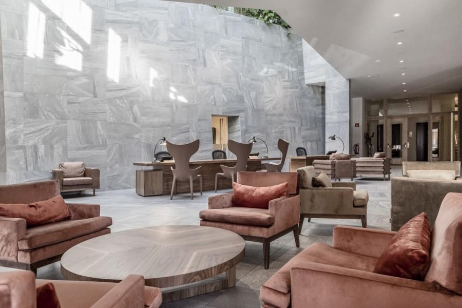 Die einladende und chillige Lounge Bar des 5Stars Hotel NIDIUM (Foto Hotel NIDIUM)