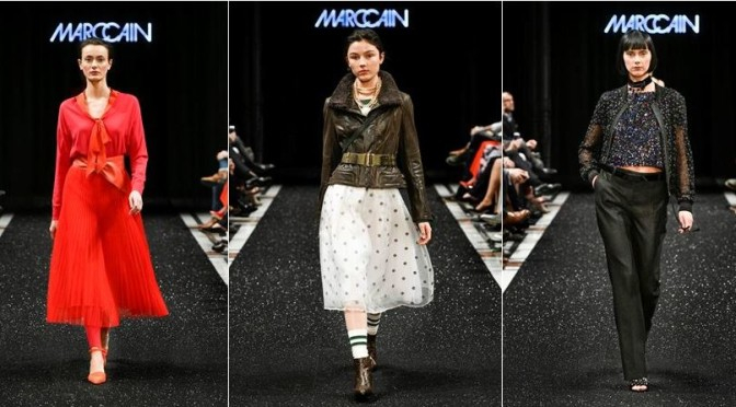 """Ballet Magnifique"" war das Motto der Marc Cain Fashion Show in Berlin"