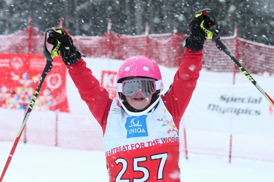SPECIAL OLYMPICS World Winter Pre-Games 2017: Anna-Sophie Friedl (AUT) (Photo GEPA pictures/ Harald Steiner)