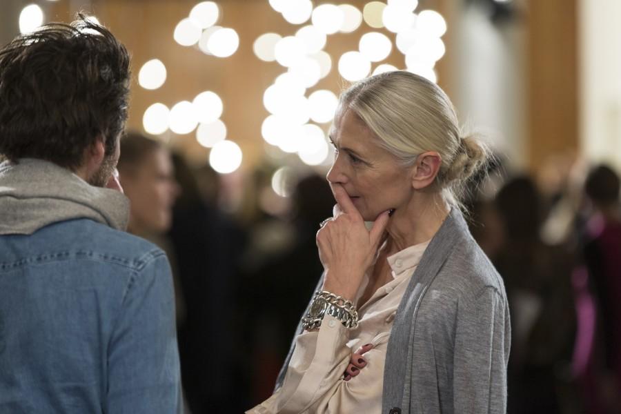 Gemeinsam mit dem Berliner Modemanager Marcus Kurz hat Christiane Arp im Januar 2015 den Berliner Mode Salon gegründet, der deutsche Designer mit Shows während der Berlin Fashion Week und ganzjähriger Marketinginitiativen unterstützt (Foto BERLINER MODE SALON)