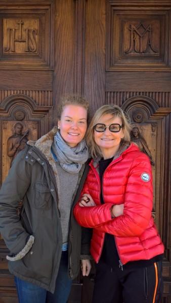Golf-Pro Sarah Schober nahm sich während ihre Heimaturlaubes zu Weihnachten Zeit für ein Gespräch mit Hedi Grager, um mit ihr über das Golfen, über Mode und ihre Ziele für 2017 zu plaudern (Foto Reinhard Sudy)