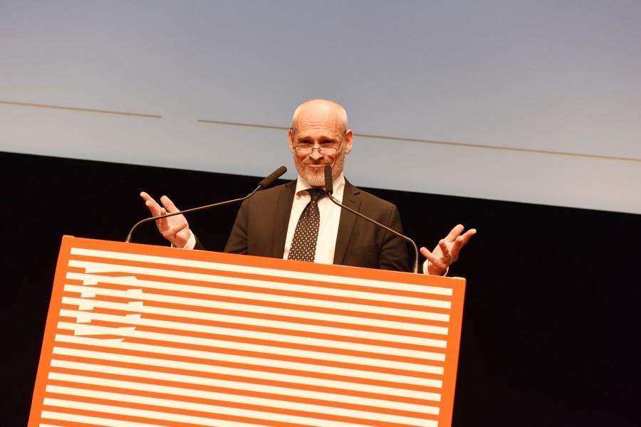 Johannes Krisch erhielt den Großen Diagonale Schauspielpreis für seine Verdienste um den österreichischen Film (Foto Diagonale/Alexi Pelekanos)