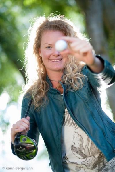 Österreichs größte Nachwuchs-Profi-Golferin Sarah Schober kommt aus der Südsteiermark (Foto Karin Bergmann)