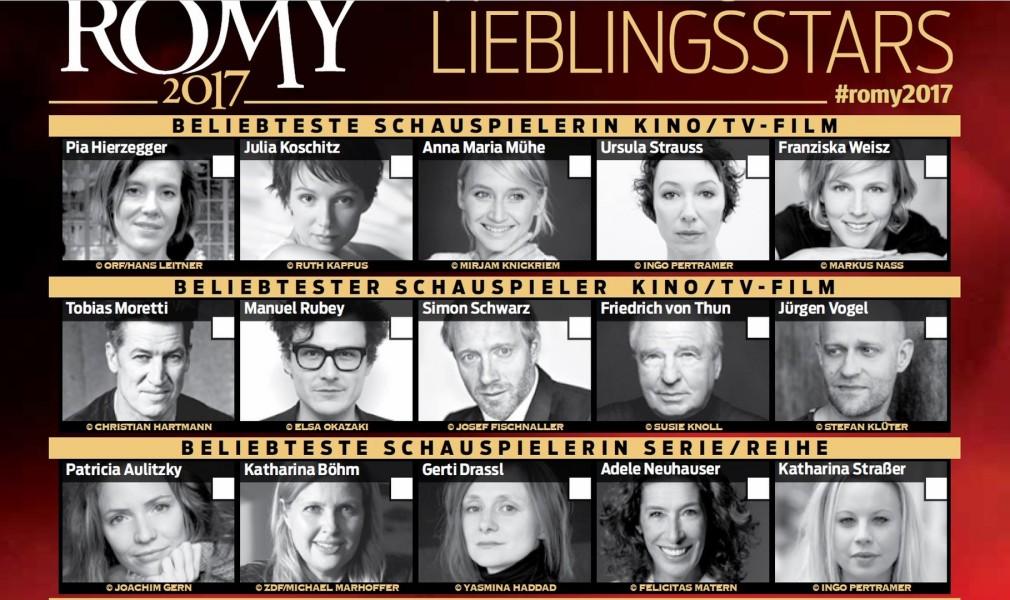 Romy-Nominierungen