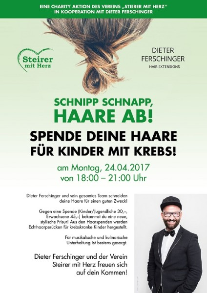 Charity-Aktion im Hairsalon Dieter Ferschinger