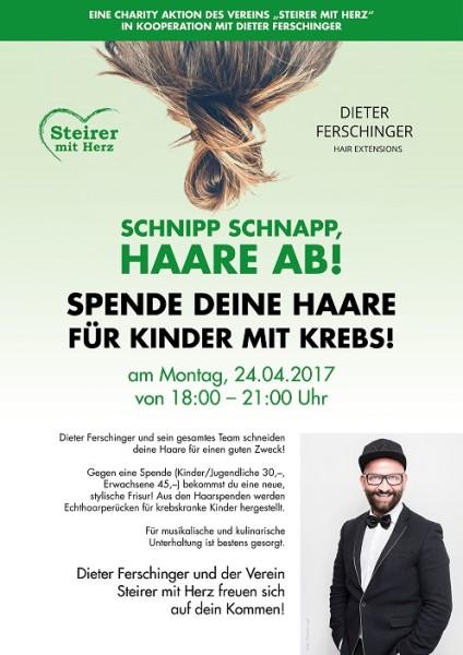 Charity-Aktion im Hairsalon Dieter Ferschinger