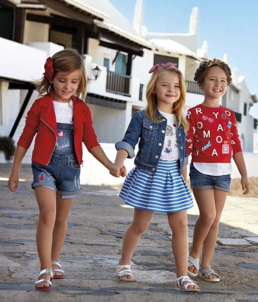 Mayoral wird oft als die Haute Couture der Kinderbekleidung bezeichnet und designt nicht nur schicke Mode für den kleinen jungen Mann oder für die junge Dame, sondern auch für das Baby (Foto Petite Fashion Week)