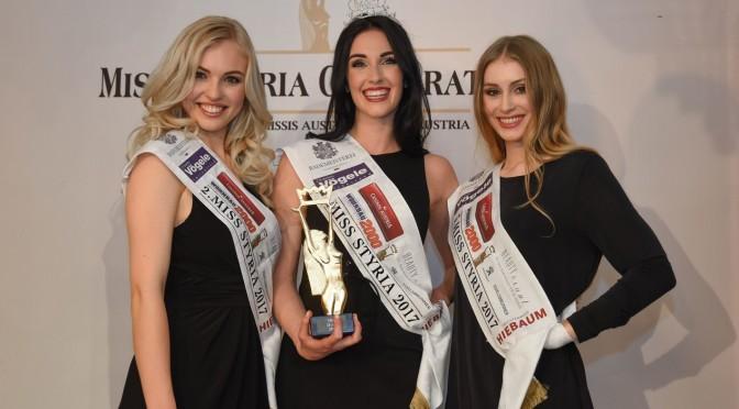 Andrea Jörgler ist die neue Miss Styria 2017