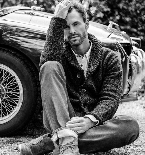 """Auch Rene Koch, Model bei Stella Models und GF Cafe Mitte,unterstützt sehr gerne die Charity-Aktion von Marcel Resch für den Verein """"Steirer mit Herz"""" (Foto Lumo Arto)"""