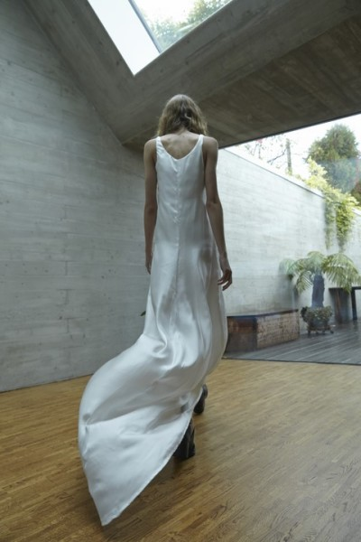 ROEE ist eines der teilnehmenden Labels bei der Eröffnungsmodenschau, es präsentiert Brautkleider. (Foto Vanessa Hartmann)