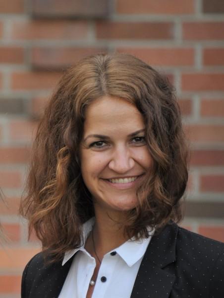 """Christina Leitner ist beruflich wie auch privat ein sehr zielstrebiger Mensch: """"Das war ich schon immer, da kann ich ein richtiger Sturkopf sein,"""" erklärt sie lachend (Foto Reinhard Sudy)"""
