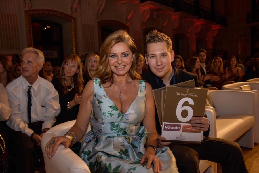 Clemens Trischler mit Schauspielerin und Dschungelkönigin Maren Gilzer (Foto Conny Pail)
