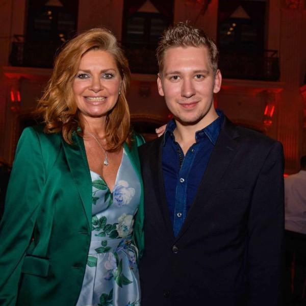 Clemens Trischler lud 2016 die Schauspielerin Maren Gilzer zum Wiener Opernball ein (Foto privat)