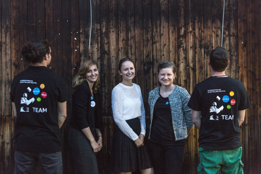 Das Festival Organisations-Team (Foto Nikolaus Pfusterschmid)