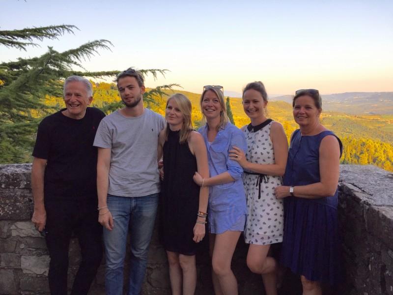 Eine große und glückliche Familie: Die Tegetthoffs (Foto privat)