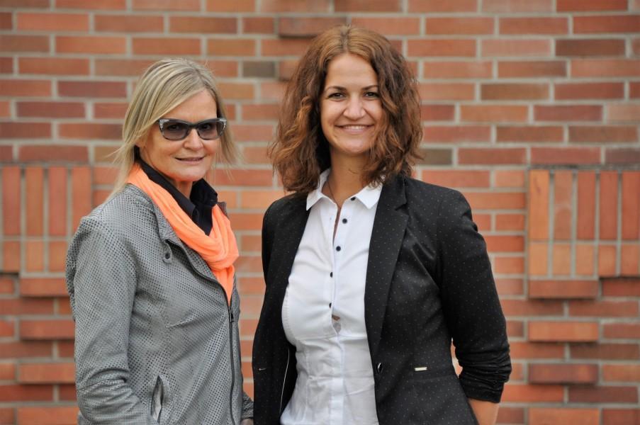 Hedi Grager traf Christina Leitner zum Interview, die ihr über ihre interessante Arbeit als Commissioning and Start-Up Engineer erzählt (Foto Reinhard Sudy)