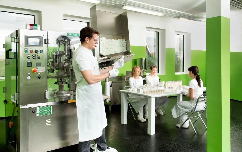 VINOBLE Cosmetics Manufaktur im südsteirischen Fresing (Foto VINOBLE Cosmetics)