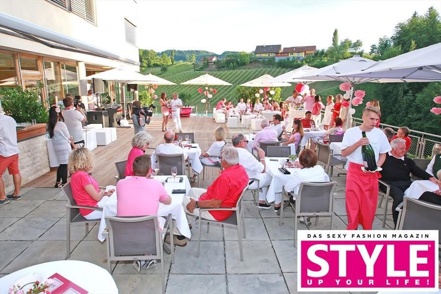 Sommerfest im herrlichen Ambiente des südsteirischen Gut Pössnitzberg (Fotos Michaela Scheurer Philipp Enders)