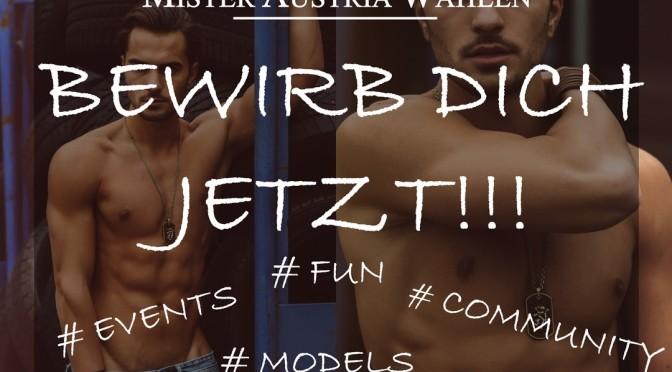 Mister Steiermark 2017 wird gesucht