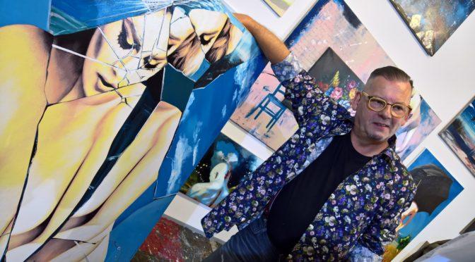 Werner Stadler lud in sein neues Atelier
