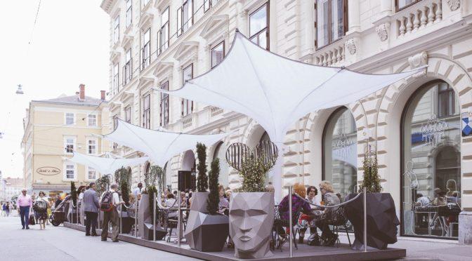 Der Cuisino-Gastgarten ist eröffnet