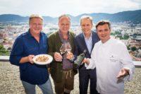 Franz Grossauer, Manfred Tement, Peter Kraus und Christof Widakovich (Foto Werner Krug)