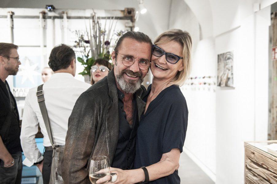 'Mister Pilatus' Roland Supper, hier mit Journalistin und Bloggerin Hedi Grager (Foto Philipp Podesser)
