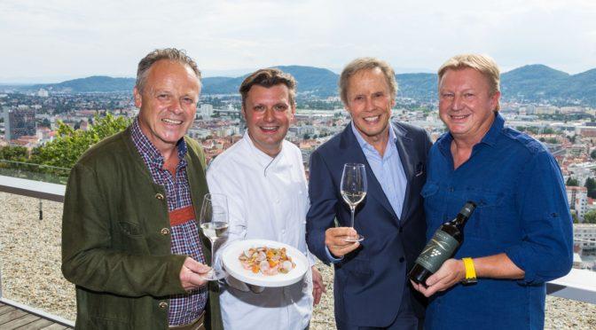 Peter Kraus präsentierte seinen ersten eigenen Wein